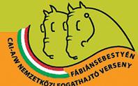 Nemzetkozi fogathajtó verseny logó.