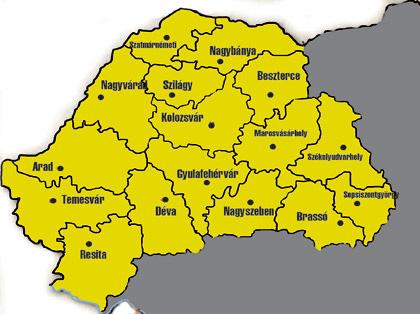 térkép erdély Városi Visszhang Szentes» Blog archívum » Erdély térkép térkép erdély