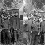 1971-ben még fiú nevelőotthon működött Szentesen. A fotó a bábszakkör szegvári vendégszereplésekor készült.