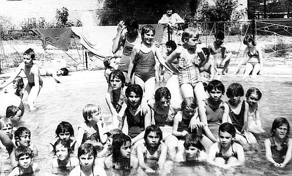 Strandolás 1981-ban.