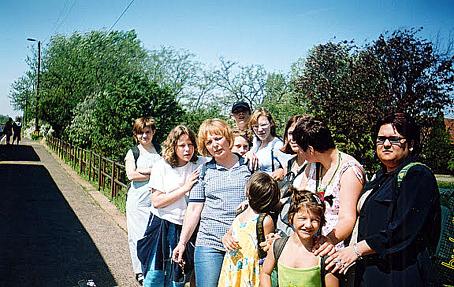 Cora fesztiválon szerepelt az Igazgyöngy dráma csoport, melynek vezetője: Füredi Zsuzsa (2003. 05. 07)