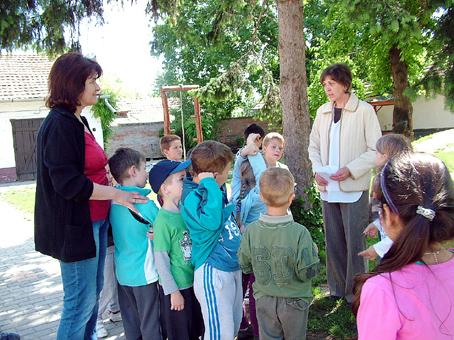 A Farkas Antal Óvodában először a madarak életével ismerkedtek a gyerekek.