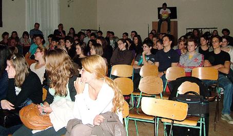 A résztvevő tanulók.