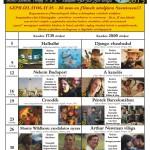 A szentesi Őze Lajos Filmszínház szeptemberi műsora.