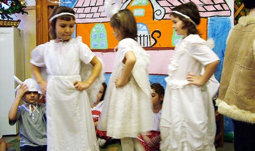 Az angyalkák tánca.
