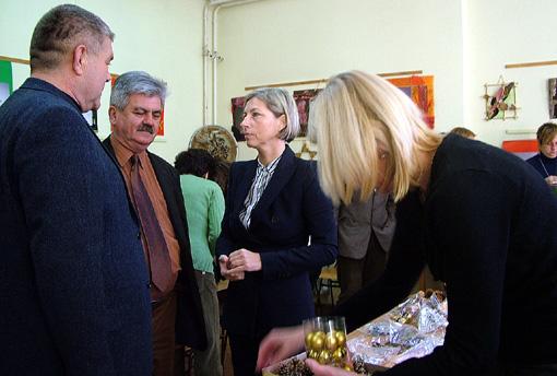 Adventi díszek készültek jótékony céllal a napokban a Bartha János Kertészeti Szakképző Iskolában.