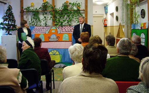 Szirbik Imre polgármester az ünnep üzenetéről beszélt.