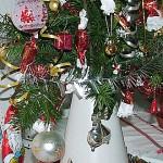 Karácsonyi dekorációm.