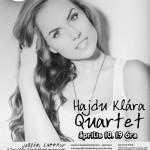 Hajdú Klára Quartettje koncertezik Szentesen.