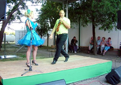 Az European operett művészeti vették birtokukba a színpadot.