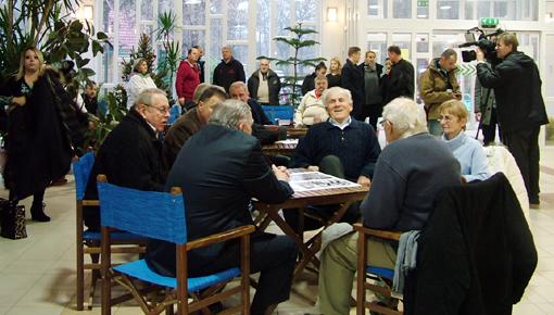 Az összejövetel résztvevői.