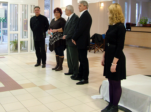 Márton Mária a Szentesi Üdülőközpont igazgatója köszöntötte a megjelenteket.