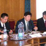 A kinai delegáció.